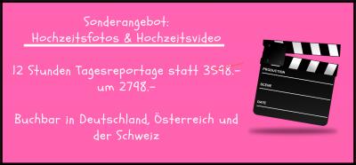 Hochzeitsfotos & Hochzeitsvideo Stunden Tagesreportage Statt Um Buchbar In Deutschland, Österreich Und Der Schweiz Angebot Jetzt Prüfen