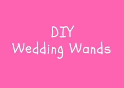 Wedding Wands