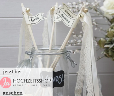 Gartenhochzeit Wedding Wands