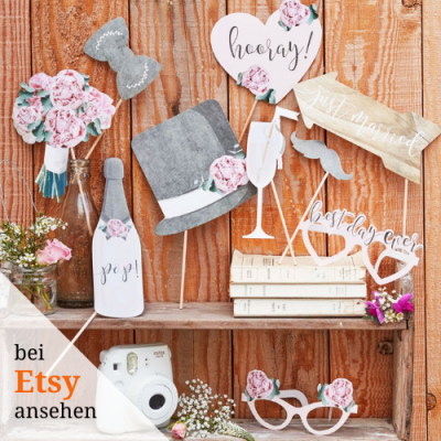 Gartenhochzeit Photo Booth
