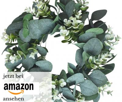DIY Eucalyptus Tischdeko