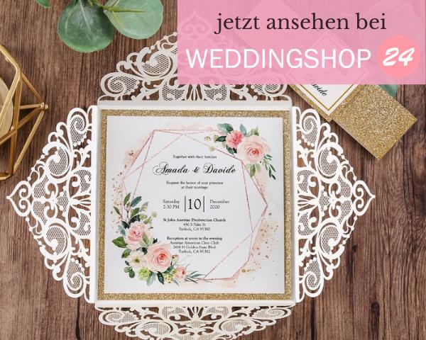 Weddingshop24 Hochzeitsideen